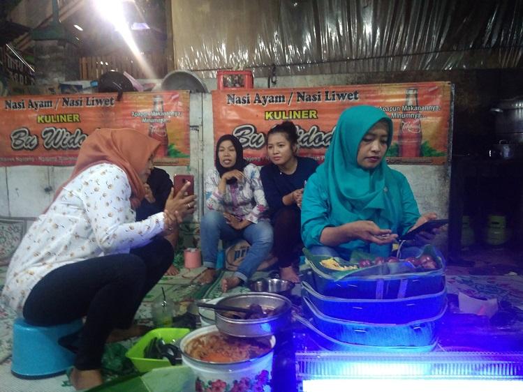 Nasi Ayam Liwet Bu Widodo Simpang Lima Semarang Bikin